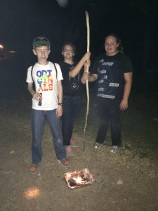 We made fire!