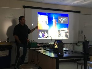 Astronaut Chamitoff teaches us about life support systems aboard the ISS and the challenges of living in space.